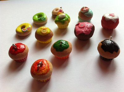 Muffin in Fimo / Polymer clay Muffins