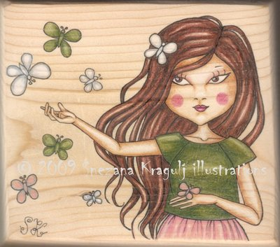 Butterflies (on wood)-ORIGINAL
