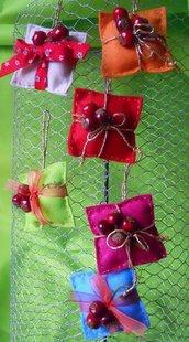 Pacchetti regalo in pannolenci