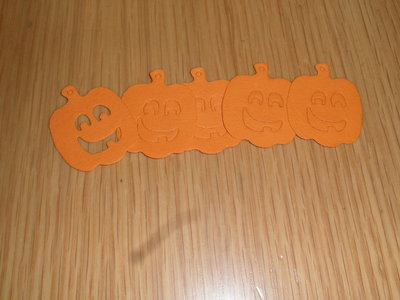 SET 12 ZUCCHE ZUCCA HALLOWEEN CARTONCINO CORNICE DECOUPAGE SCRAPBOOKING COUNTRY