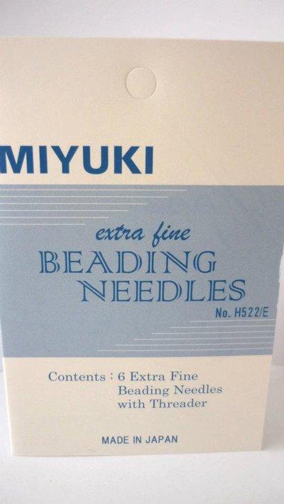 Miyuki® Extra Fine Beading Needles