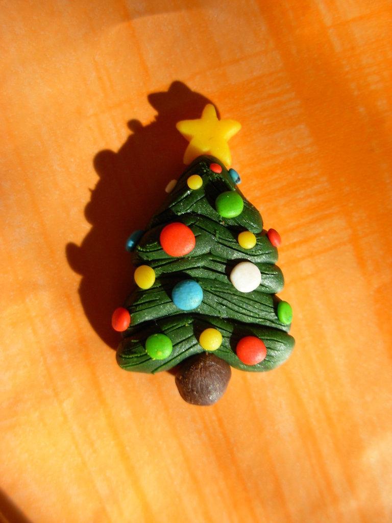 Stampo albero di Natale in gomma siliconica