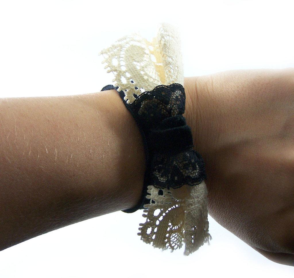 Bracciale realizzato a mano con fiocco fashion