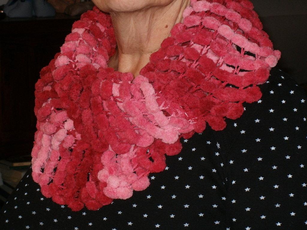 Scaldacollo rosso corallo