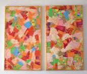 Due quadri collage