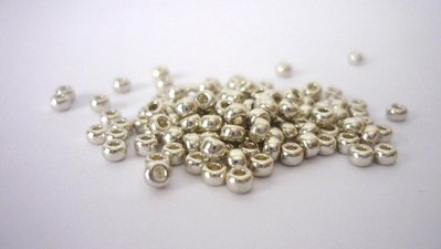 Miyuki Rocailles 8/0 Galvanized Silver