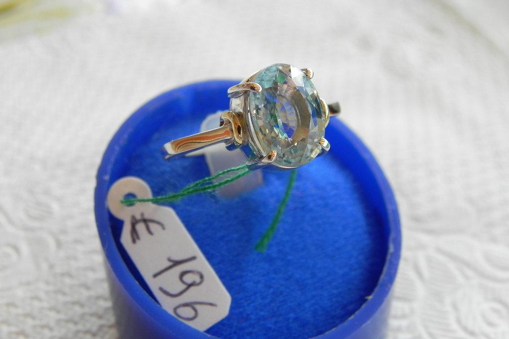 anello argento925 e oro18kt