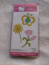 Fustella Sizzix fiore e farfalla per Big Shot