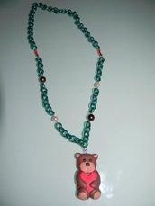 collana con orsetto