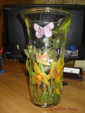 vaso sospeso trasparente