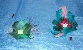 Mollette per capelli piume Burlesque 2 ;)