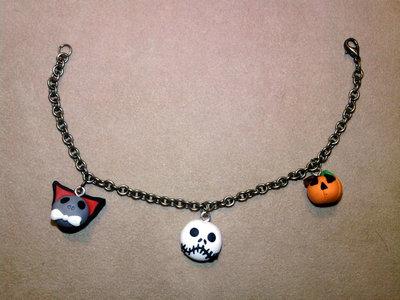 Braccialetto Halloween fimo