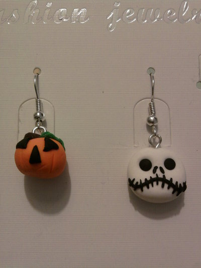 Orecchini Halloween fimo