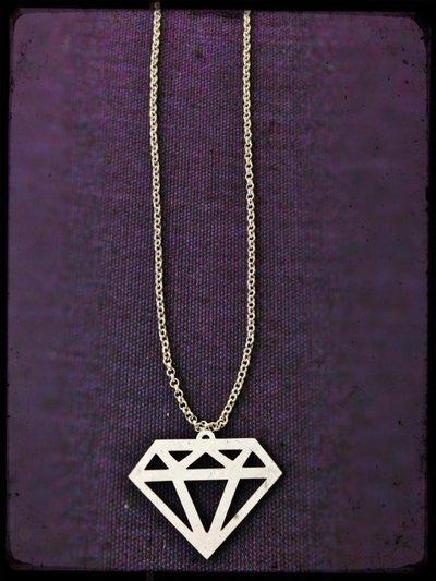 Collana Diamante Plexiglass