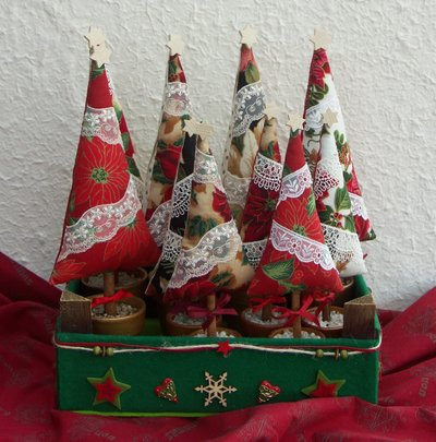 albero di Natale in vasetto