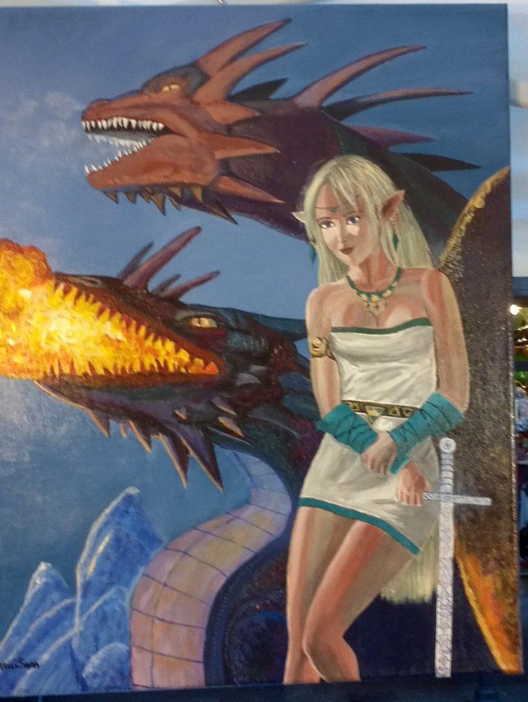 Pittura fantasy