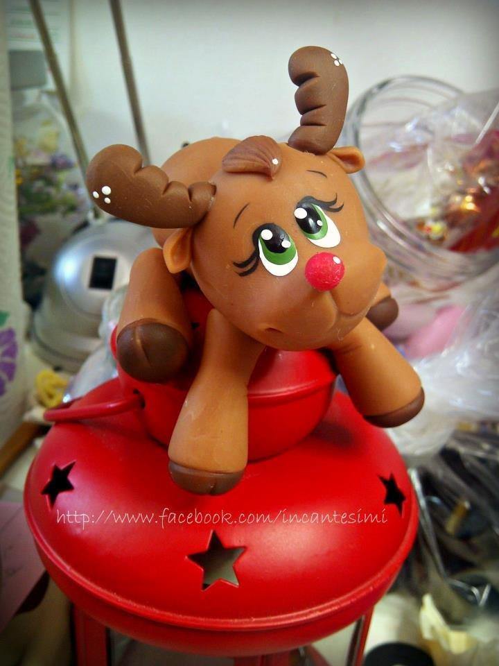 Lanterna Natale Rudoph