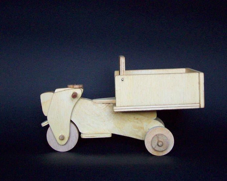 Motocarro in legno...reinvented!