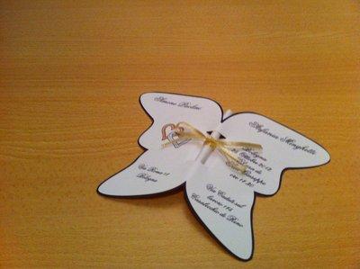 Partecipazione farfalla