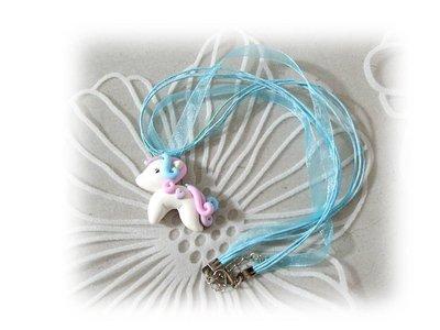 Collana pony cavallo fimo