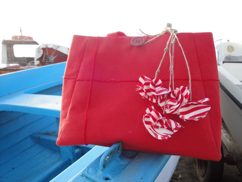 """""""Il mio mare in una borsa"""" mini handbag"""