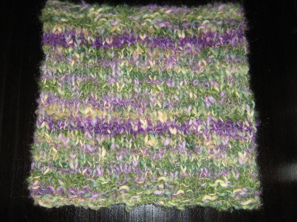 Collo lavorato a maglia
