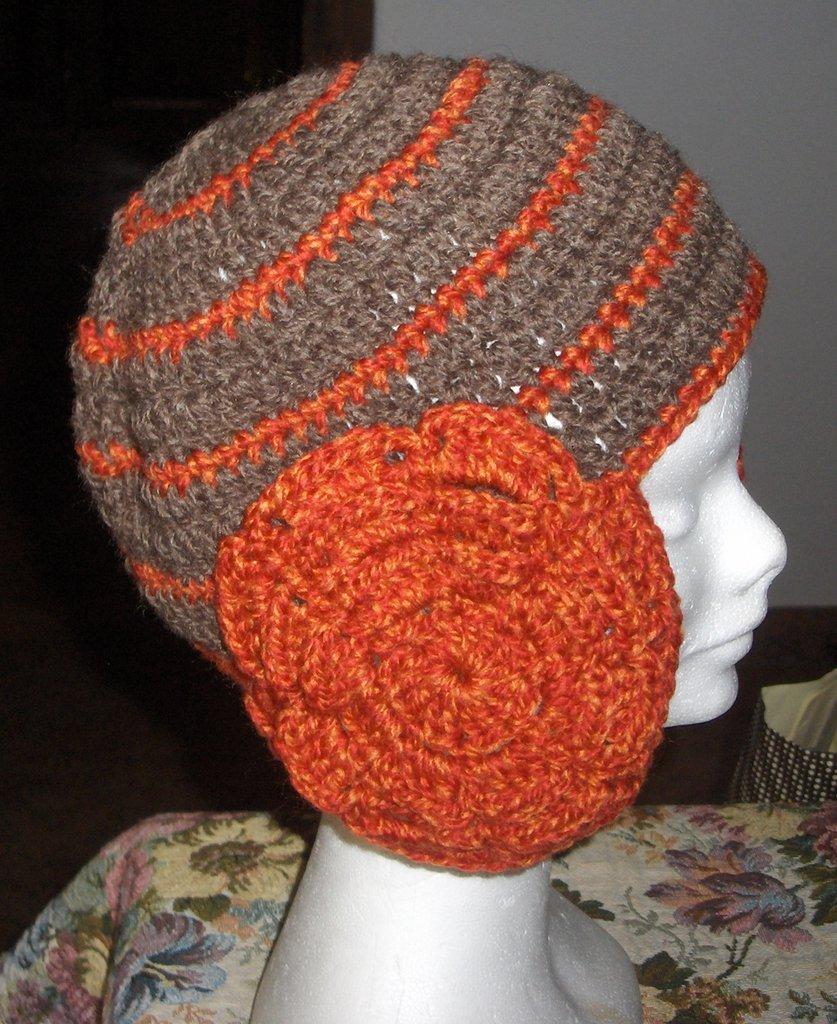 Berretto donna uncinetto artigianale - Handmade crochet cap