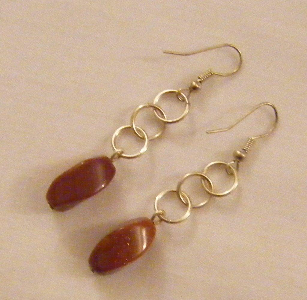 Favoloso orecchini con pietre dure - Gioielli - Orecchini - di crys e cry  XJ33
