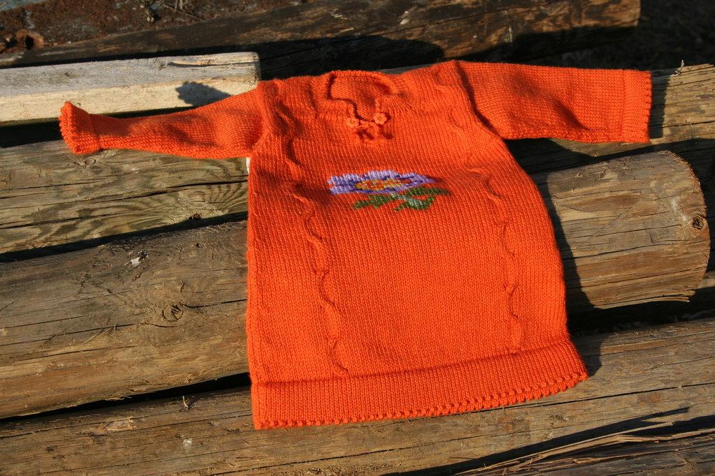Vestitino arancione