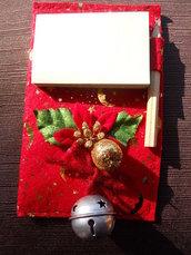Porta post-it di Natale