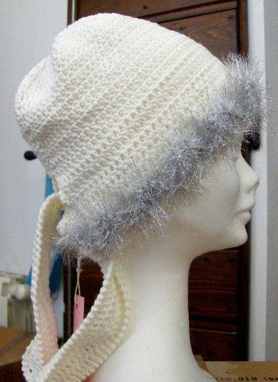 Berretto bandana donna uncinetto - Handmade crochet woman cap