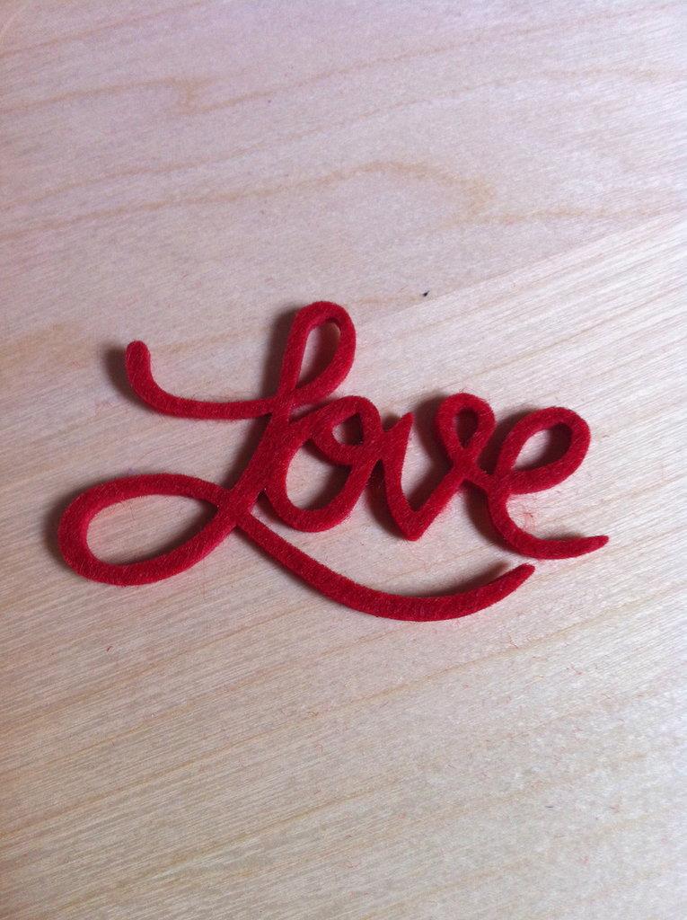 Decorazione Love