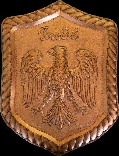 Aquila su scudo