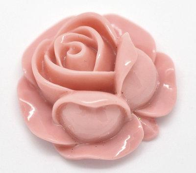 Rosa in resina