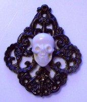Skull teschio resina stile Tarina tarantino