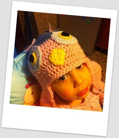 Cappello Gufo Crochet - Pattern