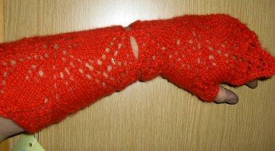 Scaldapolso guanti senza dita artigianali handmade wristwarmer fingerless gloves