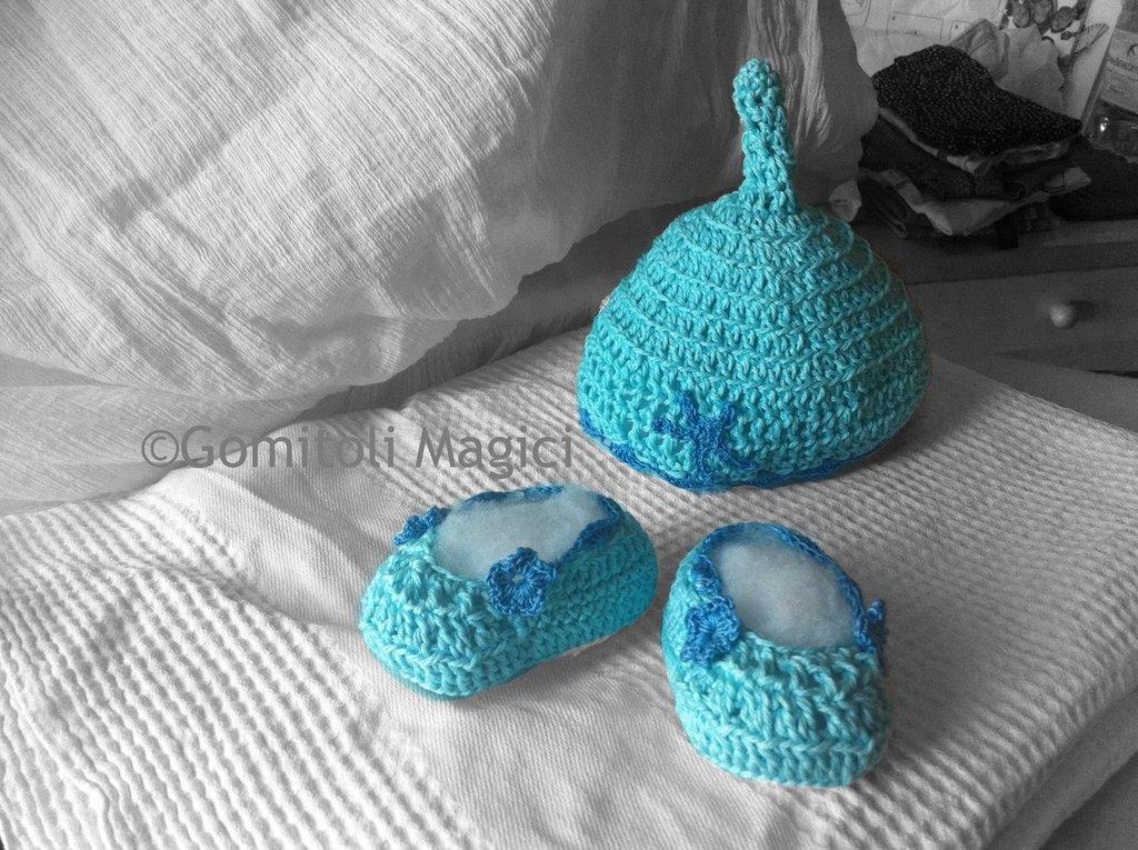 Scarpine neonato serie Oceano