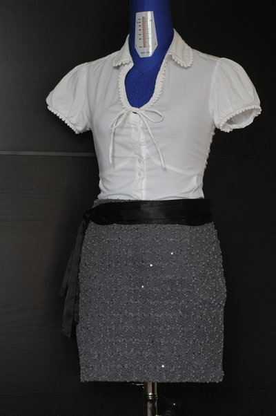 Chic and elegant skirt, for office and formal occasion use