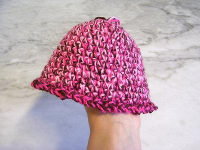 Cappello neonato lana
