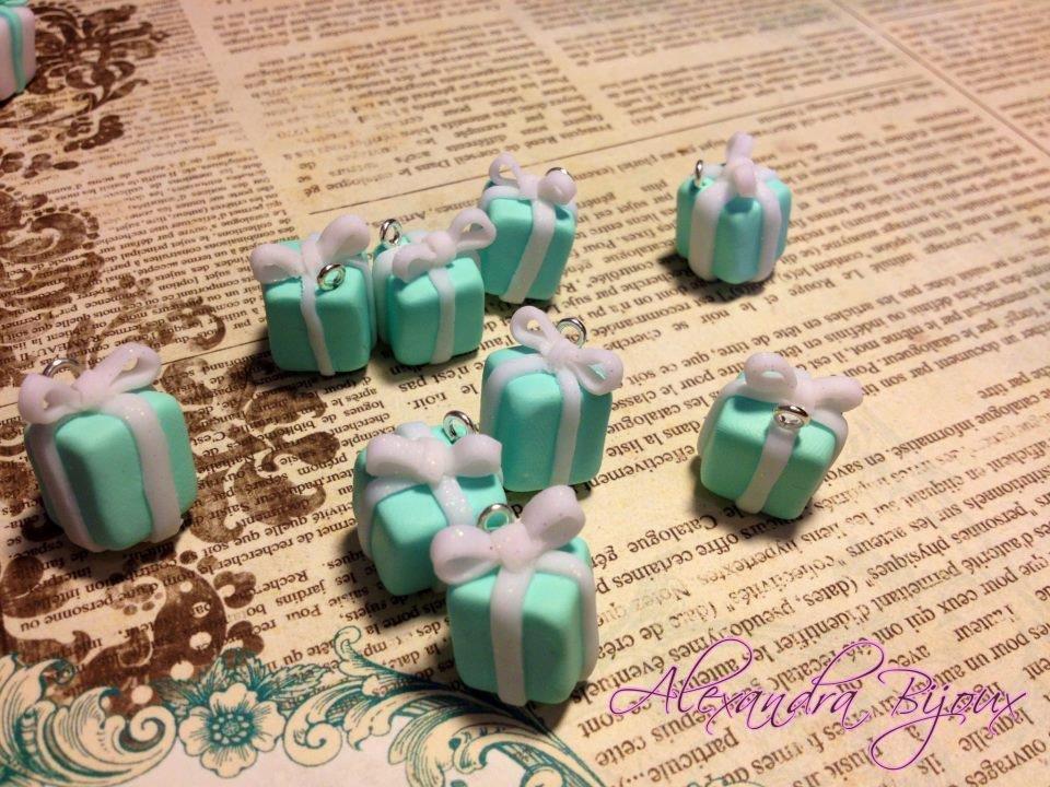 ciondolo pacchetto Tiffany
