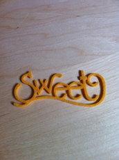 Decorazione Sweet in feltro