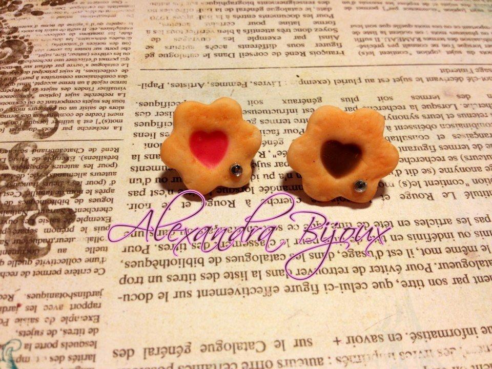 orecchini da lobo biscottini