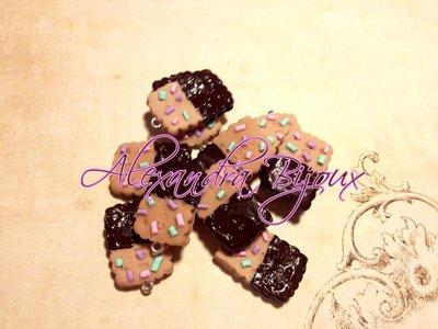 ciondoli biscotti con cioccolato e zuccherini