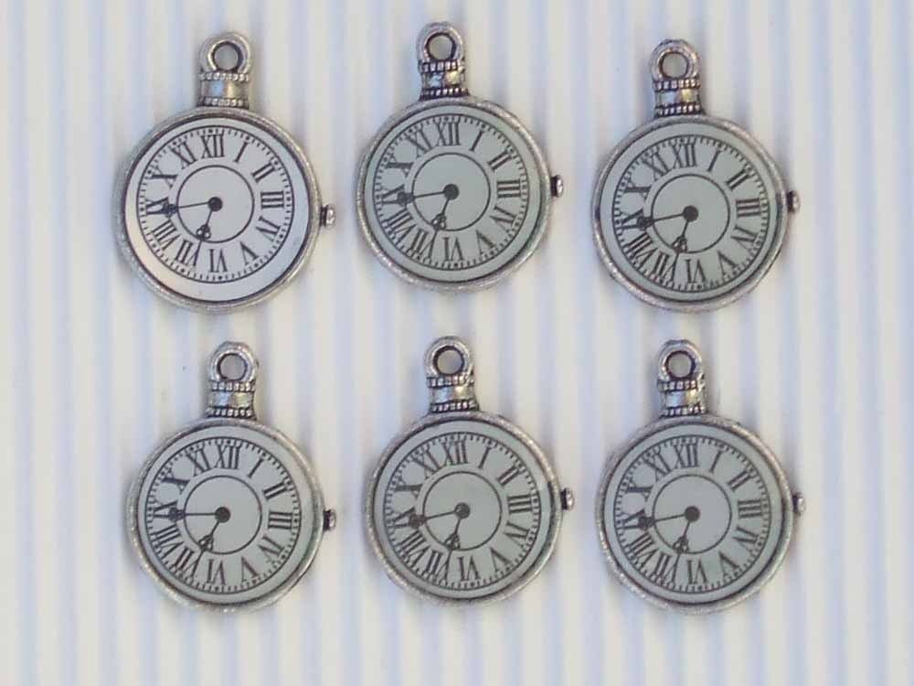 6 charms orologio 16mm vend.