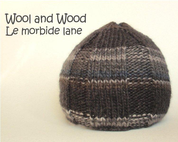 Cappellino da uomo in lana