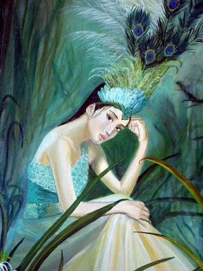 Quadro principessa acquatica