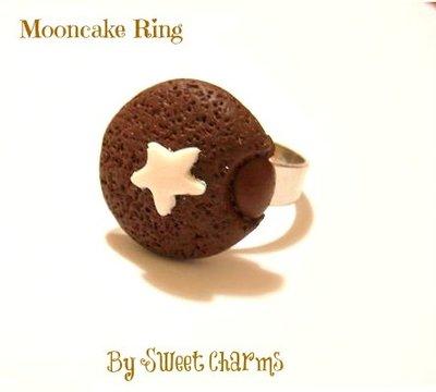 Anello regolabile merenda pan di stelle mooncake