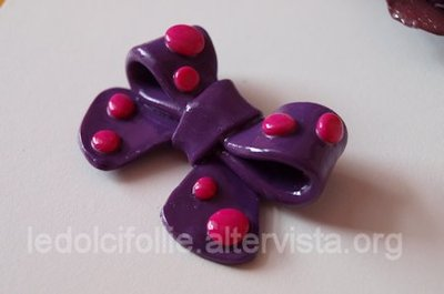 Purple Bow Ring