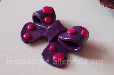 Purple Bow Ring